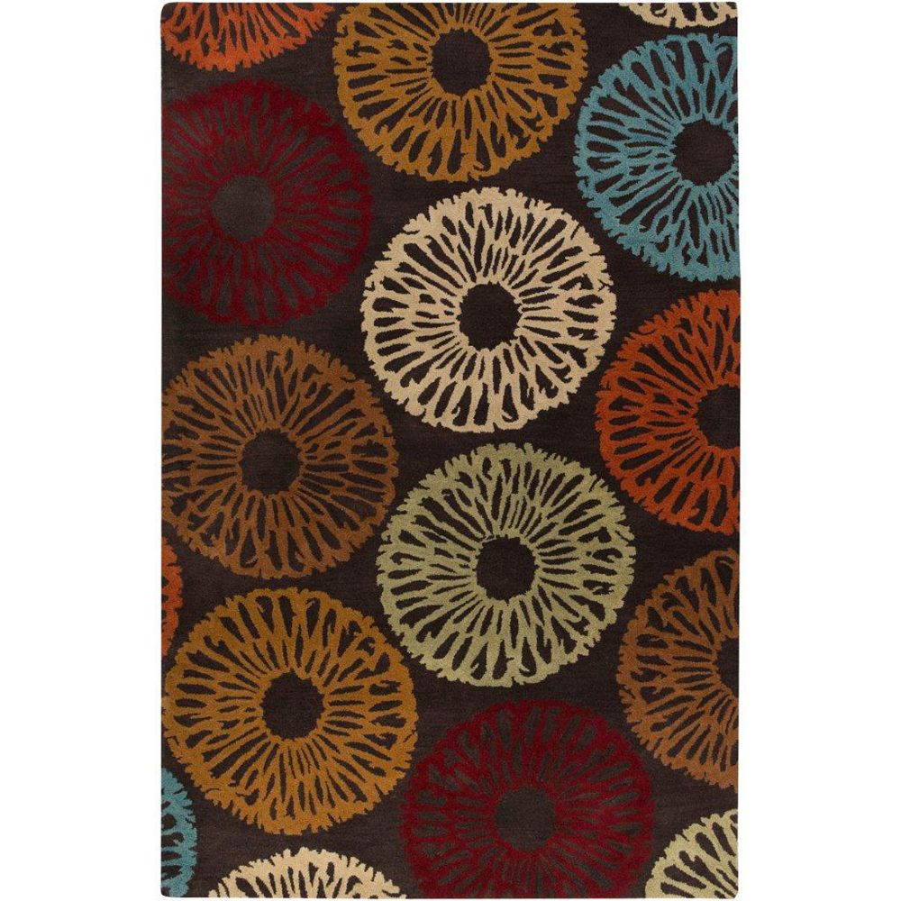 Artistic Weavers Yerres Brown 8 ft. x 11 ft. Rectangular Area Rug
