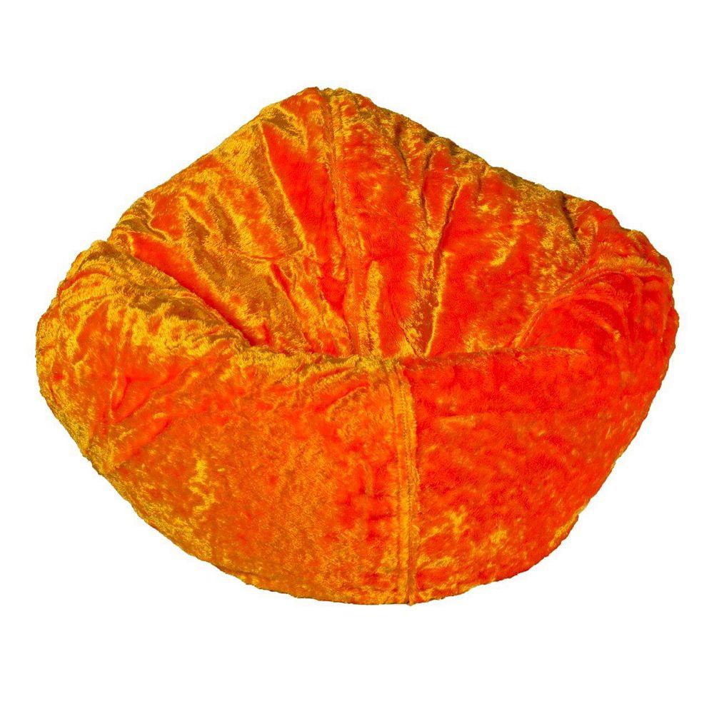 Ace Casual Furniture Fauteuil poire en chenille, mandarine
