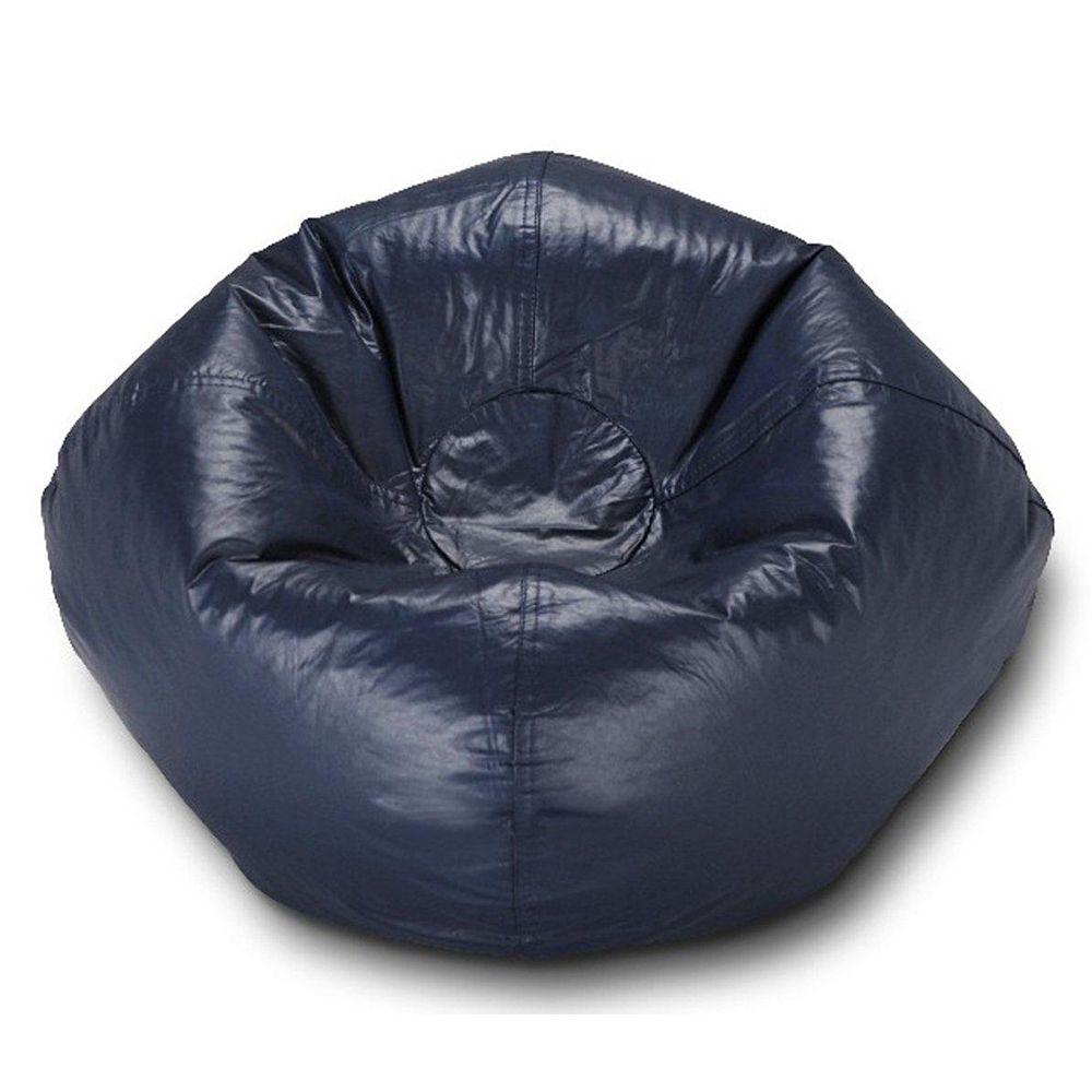 Ace Casual Furniture Navy Matte Bean Bag - 96 Inch