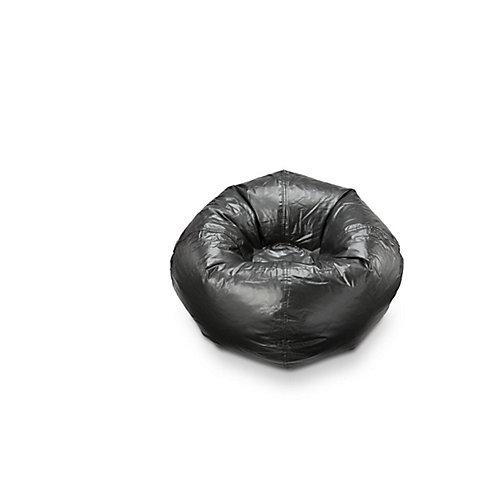 Bean Bag Chair in Black Soot