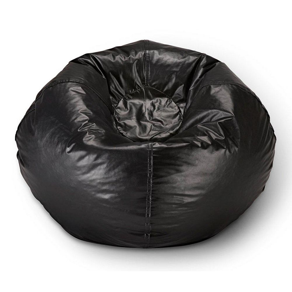 Ace Casual Furniture Fauteuil poire, noir mat