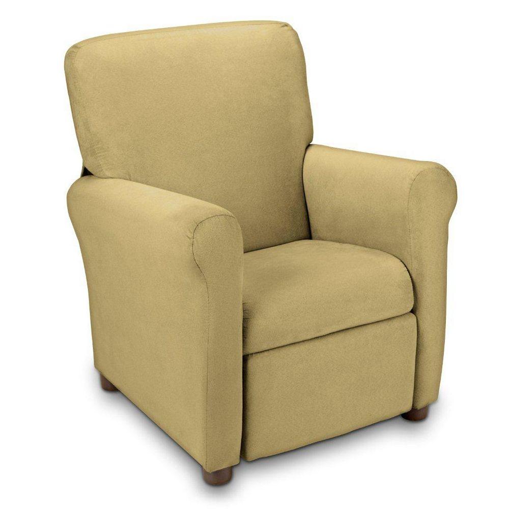 Ace Casual Furniture Fauteuil inclinable urbain pour adolescent en microfibre, brun grès