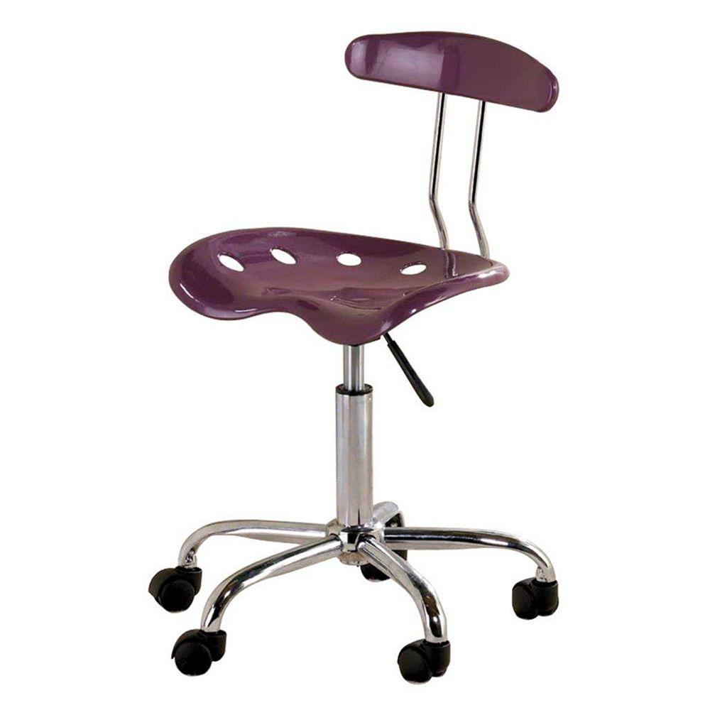 Ace Casual Furniture Purple Tractor Seat Task Chair