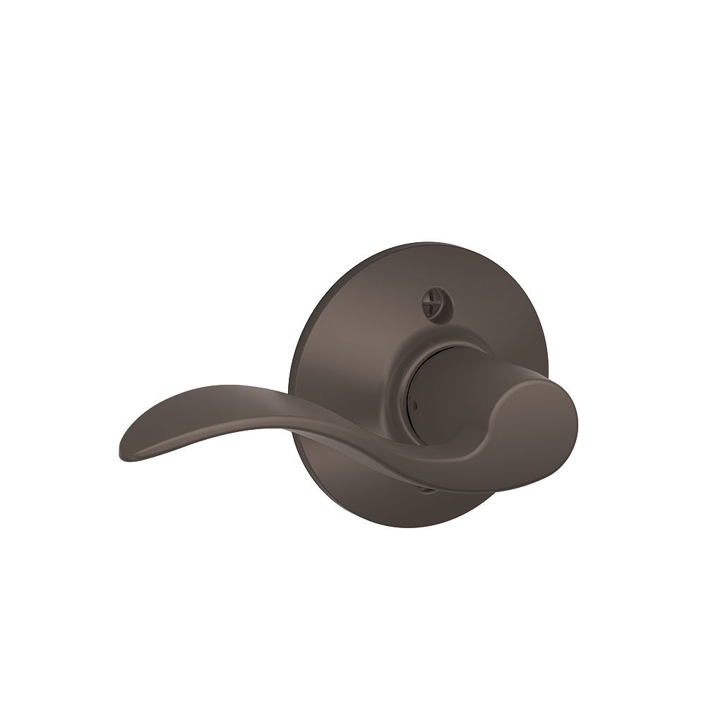 Schlage F170Acc613 Accent Oil-Rubbed Bronze Lefthand Dummy Lever