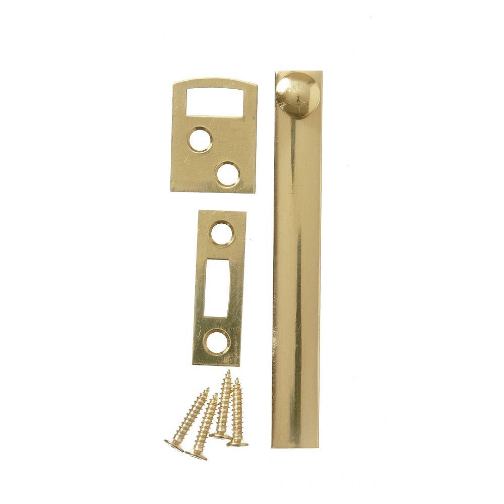 Everbilt 4 Inch  Solid Brass Surface Bolt