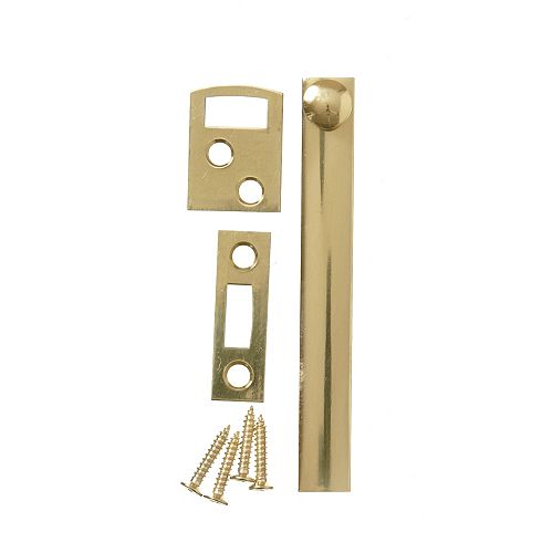 Everbilt 4 Inch  Solid Brass Surface Bolt