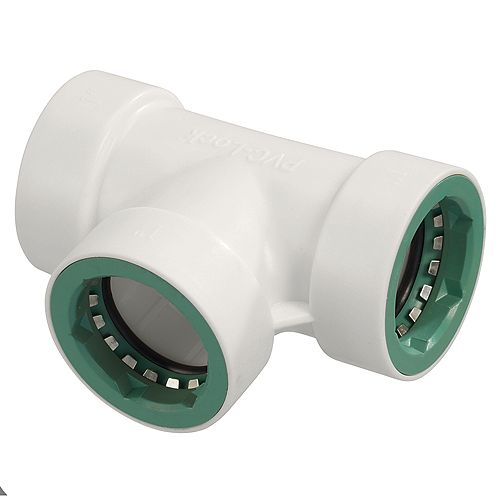 Orbit PVC-Lock<sup>®</sup> té 2,5 cm pression