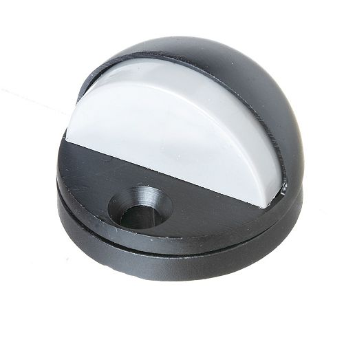 Adjustable Floor Door Stop , Black, 1pc