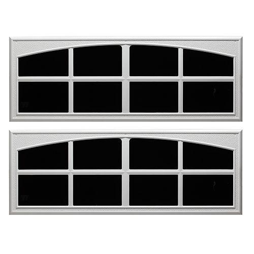 """Pann Fenêtres déco garage 17-1/2""""X45"""" blanc 2MCX"""