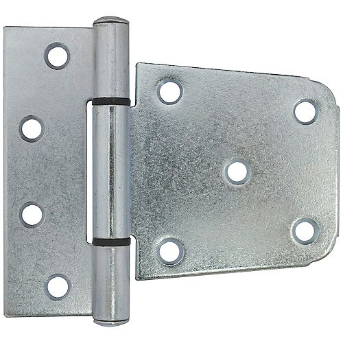 3-1/2-Inch Zinc Plated Post Gate Hinge - 1pc