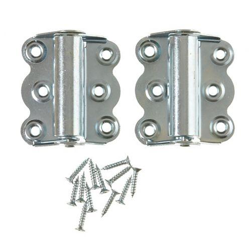 Charnières de moustiquaire zinc 2MCX