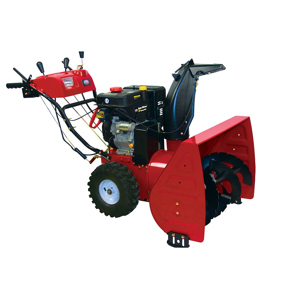 All Power America 9 hp Two-Stage Gas Snowblower with 26-Inch Clearing Width