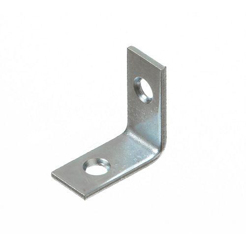 1 Inch Zinc Corner Brace (4-Pack)