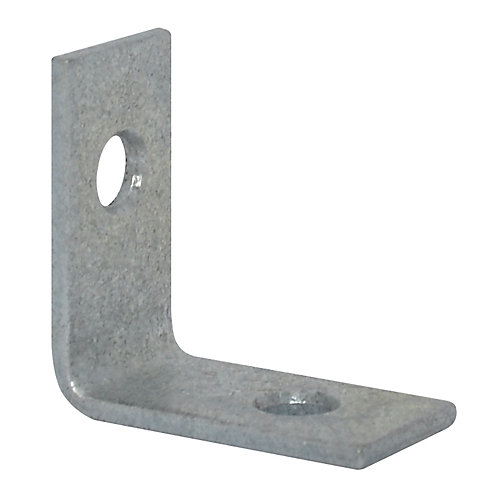 1 Inch Galvanized Corner Brace (4-Pack)