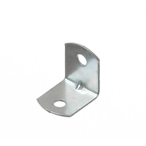 Everbilt 3/4 Inch Zinc Furniture Brace (50-Pack)