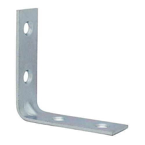 2 Inch Zinc Corner Brace (4-Pack)