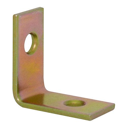 1 Inch Brass Corner Brace (4-Pack)