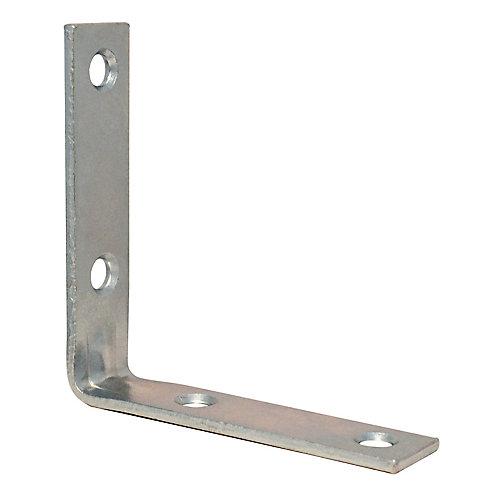 2-1/2 Inch Zinc Corner Brace (4-Pack)