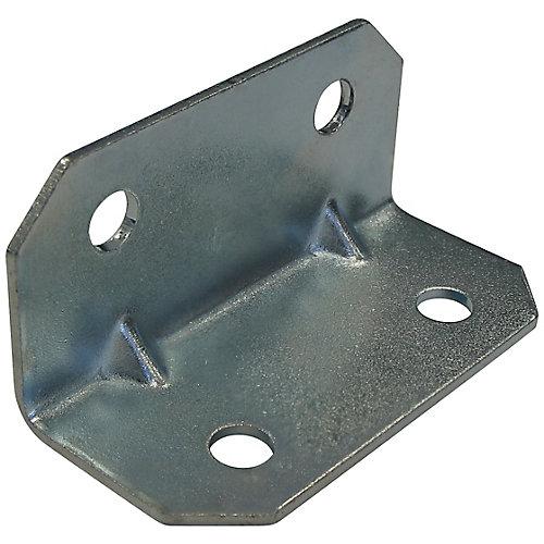 3/4 Inch Zinc Corner Brace (4-Pack)
