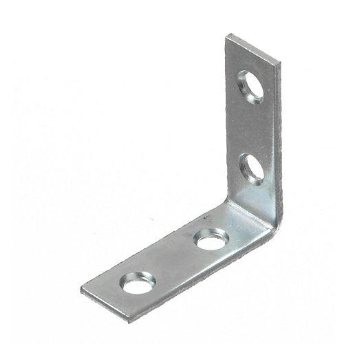 1-1/2 Inch Zinc Corner Brace (80-Pack)