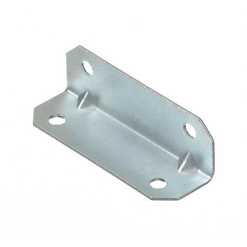 3/4 Inch X2-1/2 Inch Zinc Furniture Brace (50-Pack)
