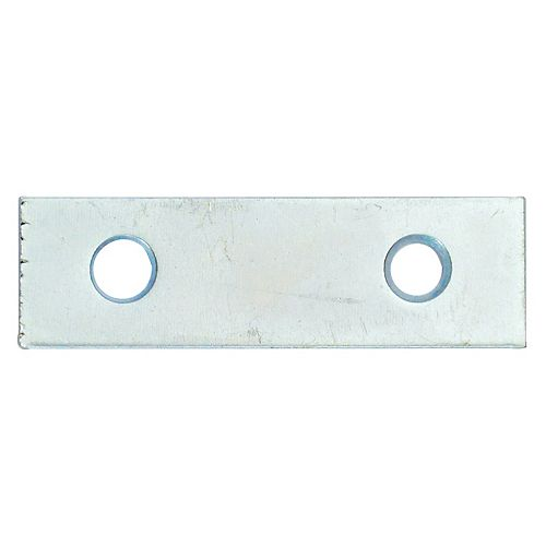 2 Inch Zinc Mending Plate (4-Pack)