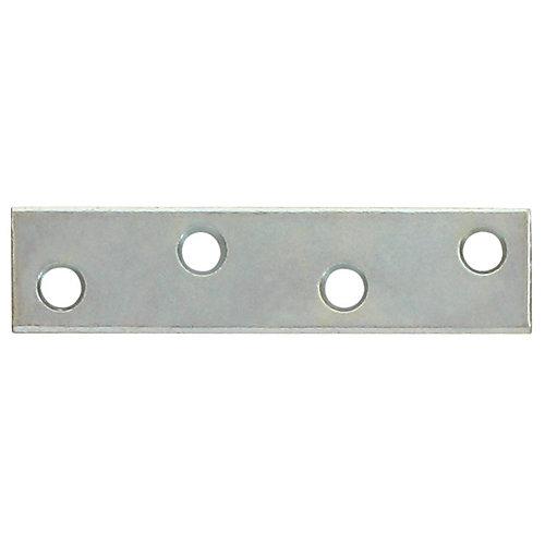 3 Inch  Zinc Mending Plate