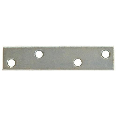 4 Inch  Zinc Mending Plate