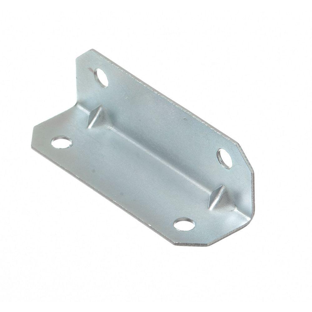 Everbilt 3/4 Inch X2-1/2 Inch Zinc Furniture Brace (4-Pack)