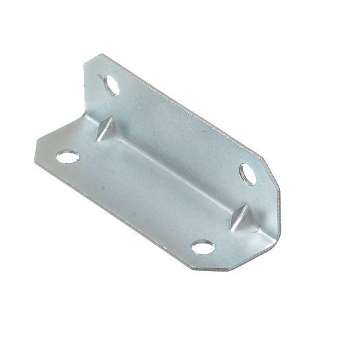 3/4 Inch X2-1/2 Inch Zinc Furniture Brace (4-Pack)