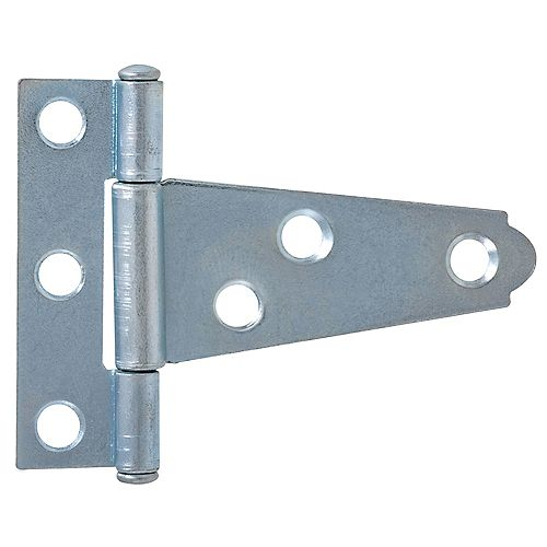 Everbilt 2-Inch Zinc Plated Light Duty T-Hinge - 1pk