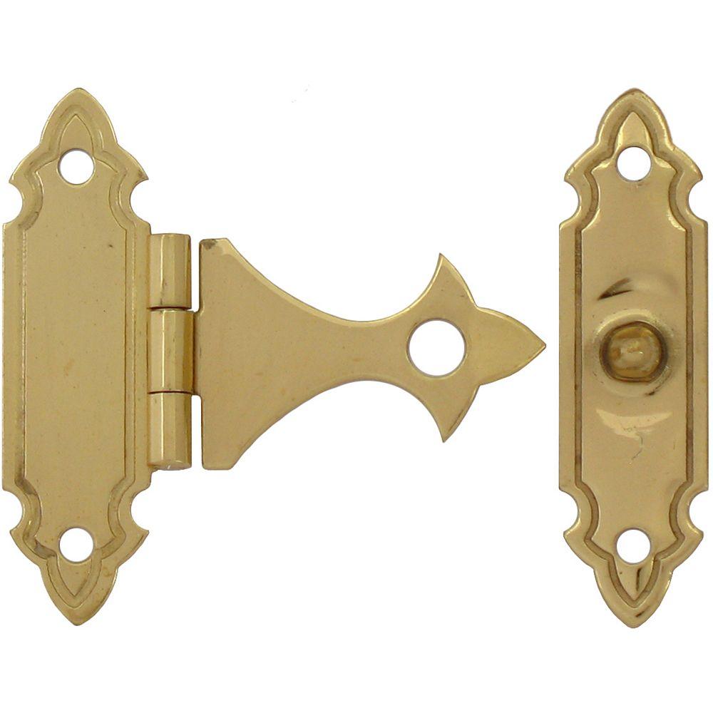 Everbilt 1-1/4 Inch Solid Brass Box Catch (2-Pack)