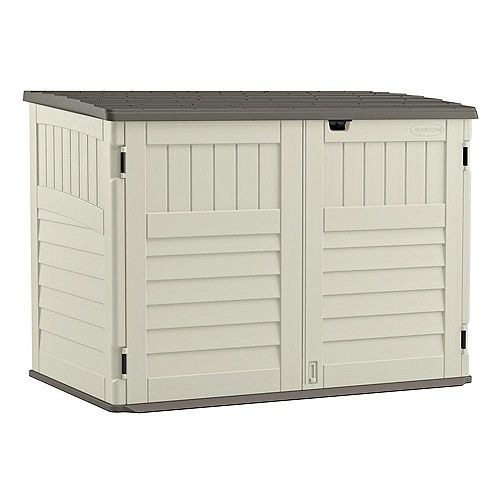 Blow Molded Horizontal Storage Shed