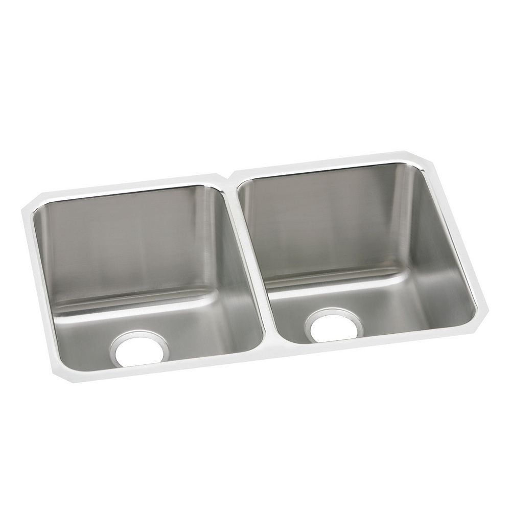 Wessan Double Bowl Undermount - 20 Inch x 31.25 Inch x 7.875 deep