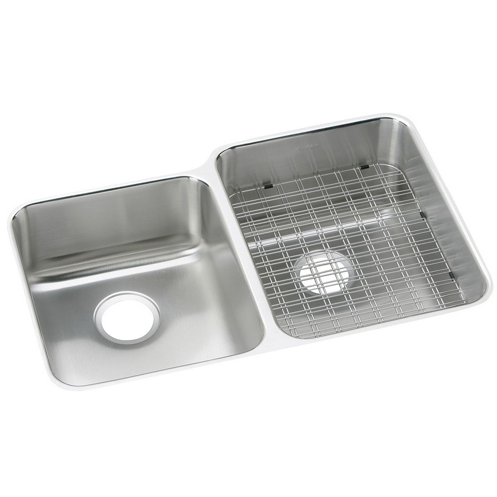 Wessan Double Bowl Undermount - 20.5 Inch x 31.25 Inch x 9.875 deep
