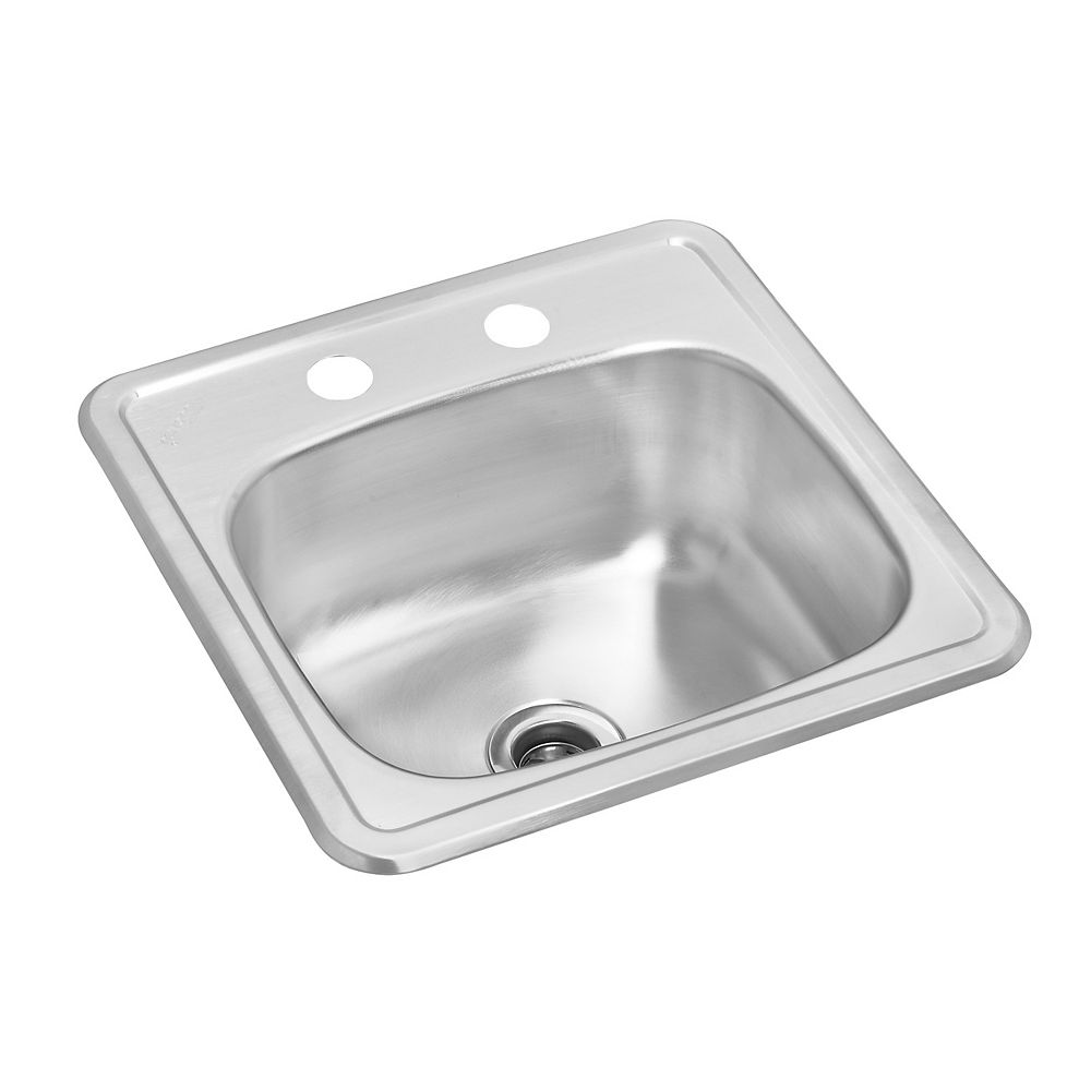 Wessan Stainless Steel Single Bowl Drop-in Bar Sink