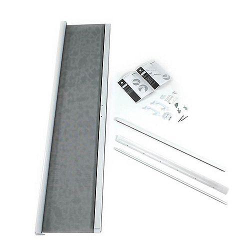 36-inch x 80-inch White Standard Retractable Screen