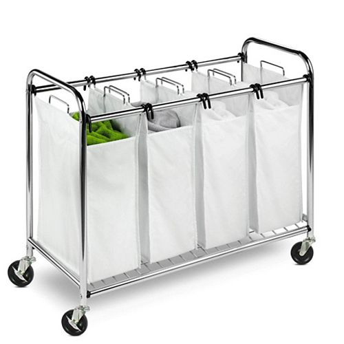 Honey-Can-Do Heavy-duty Quad sorter, chrome