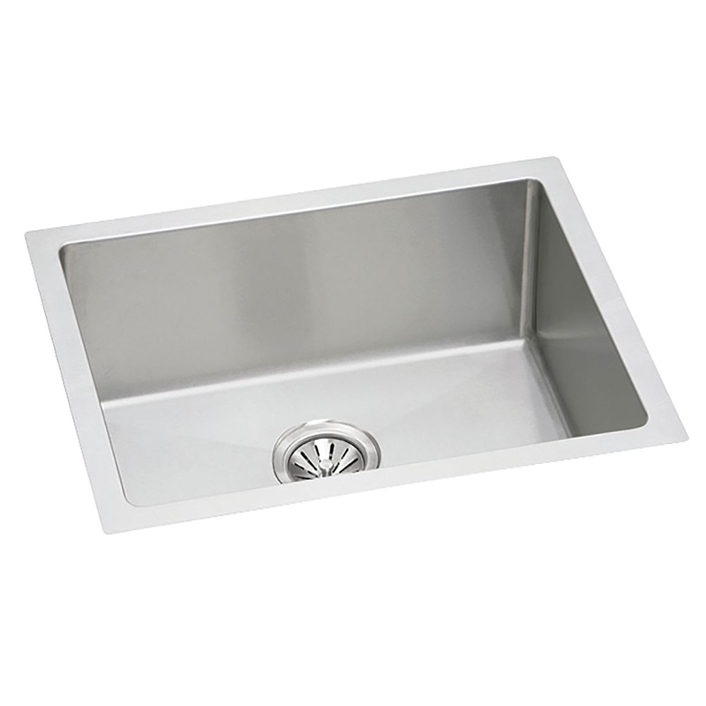 Wessan Stainless Steel Hand-Fabricated Single Bowl Undermount Sink