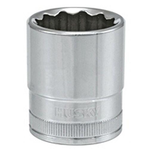 Douille avec entraînement 1/2 pouce, 22 mm, 12 points, standard, métrique