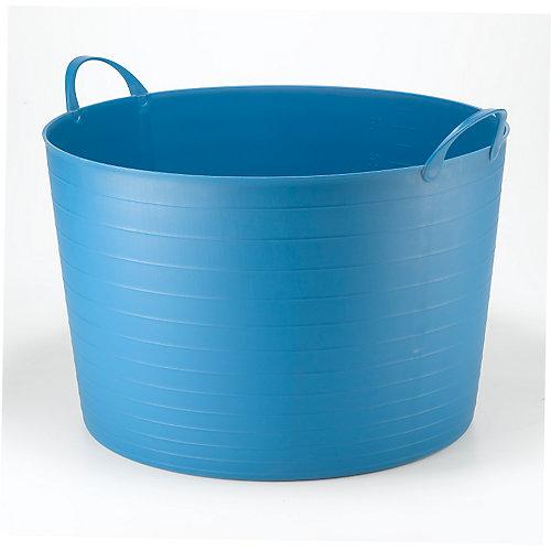 Seau rond Flexi classique de 70L - bleu