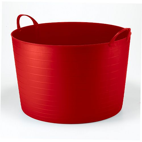 70L Classic Round Flexi Tub - Red
