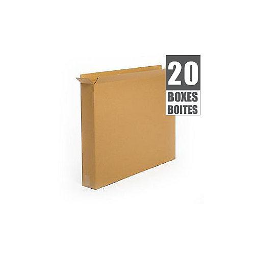 36 Inch  x 5 Inch  x 30 Inch  20-Box Bundle