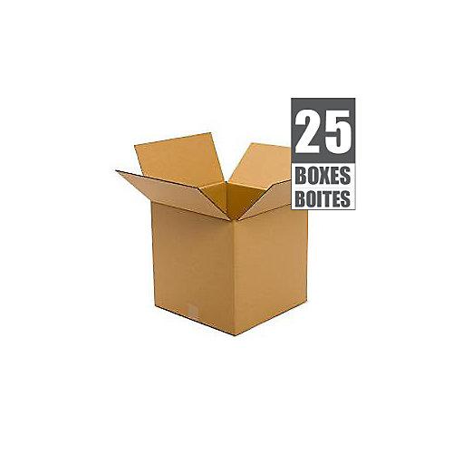 16 Inch  x 16 Inch  x 16 Inch  25-Box Bundle