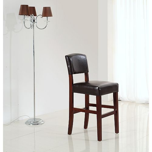 Avalon Collection 24 Inch Counter / Bar Stool (Set of 2)