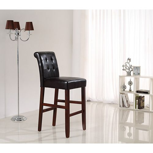 Cosmopolitan Collection Deluxe 29 Inch Tufted Counter/ Bar Stool (Set of 2)