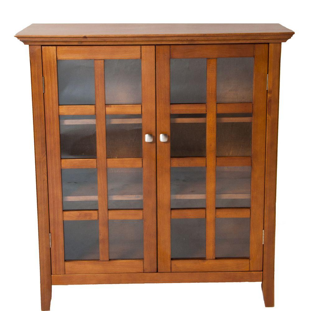 Simpli Home Acadian Collection Medium Storage Unit