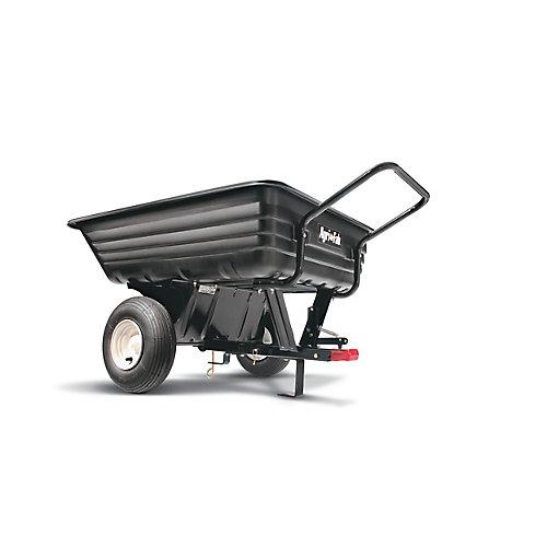 Chariot utilitaire en polyéthylène à tracter ou à pousser