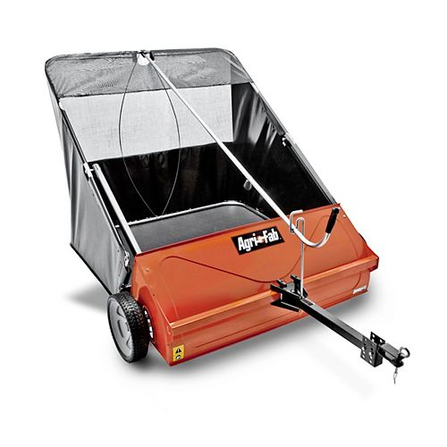 44-inch 25 cu. ft. Tow-Behind Lawn Sweeper