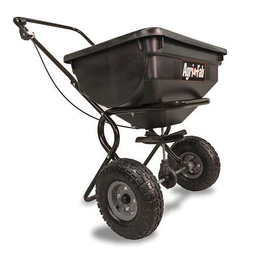 Épandeur rotatif à pousser, capacité de 85 lb